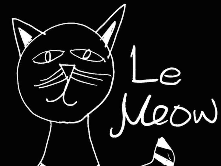 le meow sweater