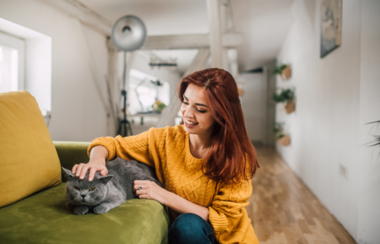 Stressed? Spend Time with Your Cat!